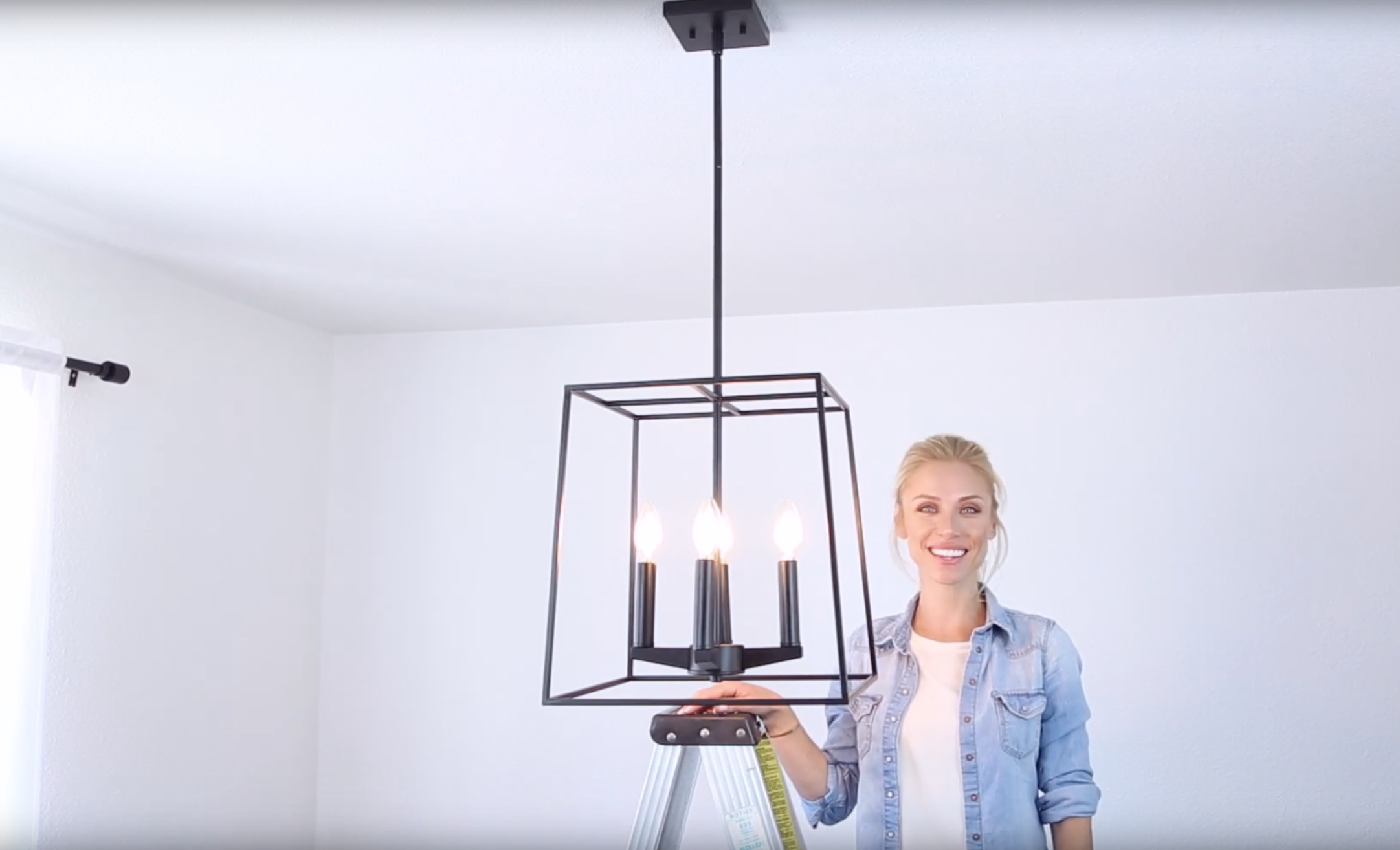 How to Install a Down Rod Chandelier