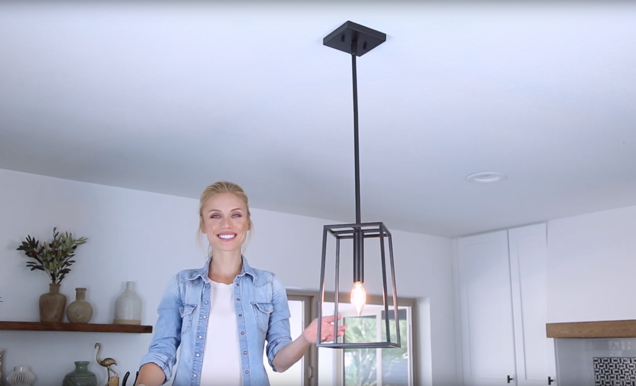 How to Install a Down Rod Pendant Light