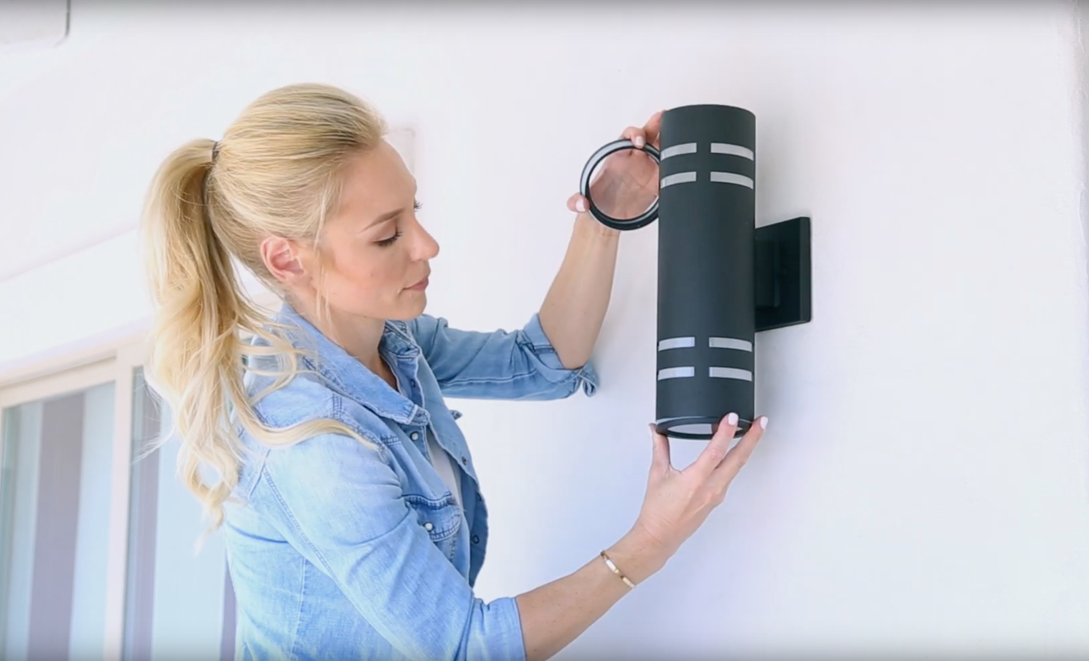 How to Install an Outdoor Wall Light