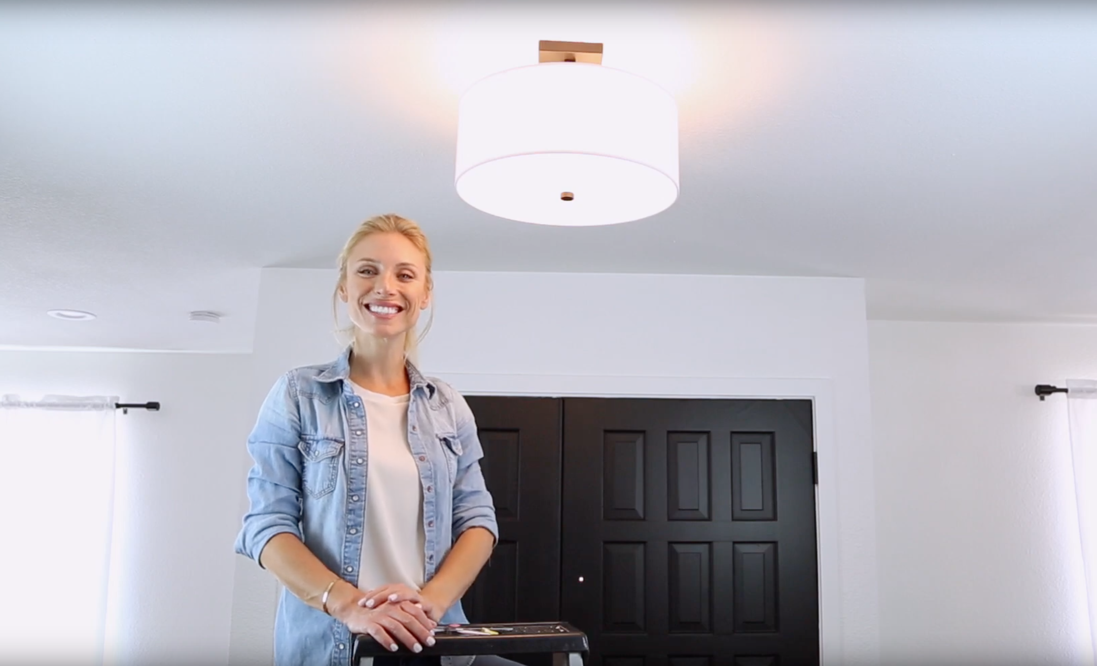 How to Install a Semi Flush Mount Light
