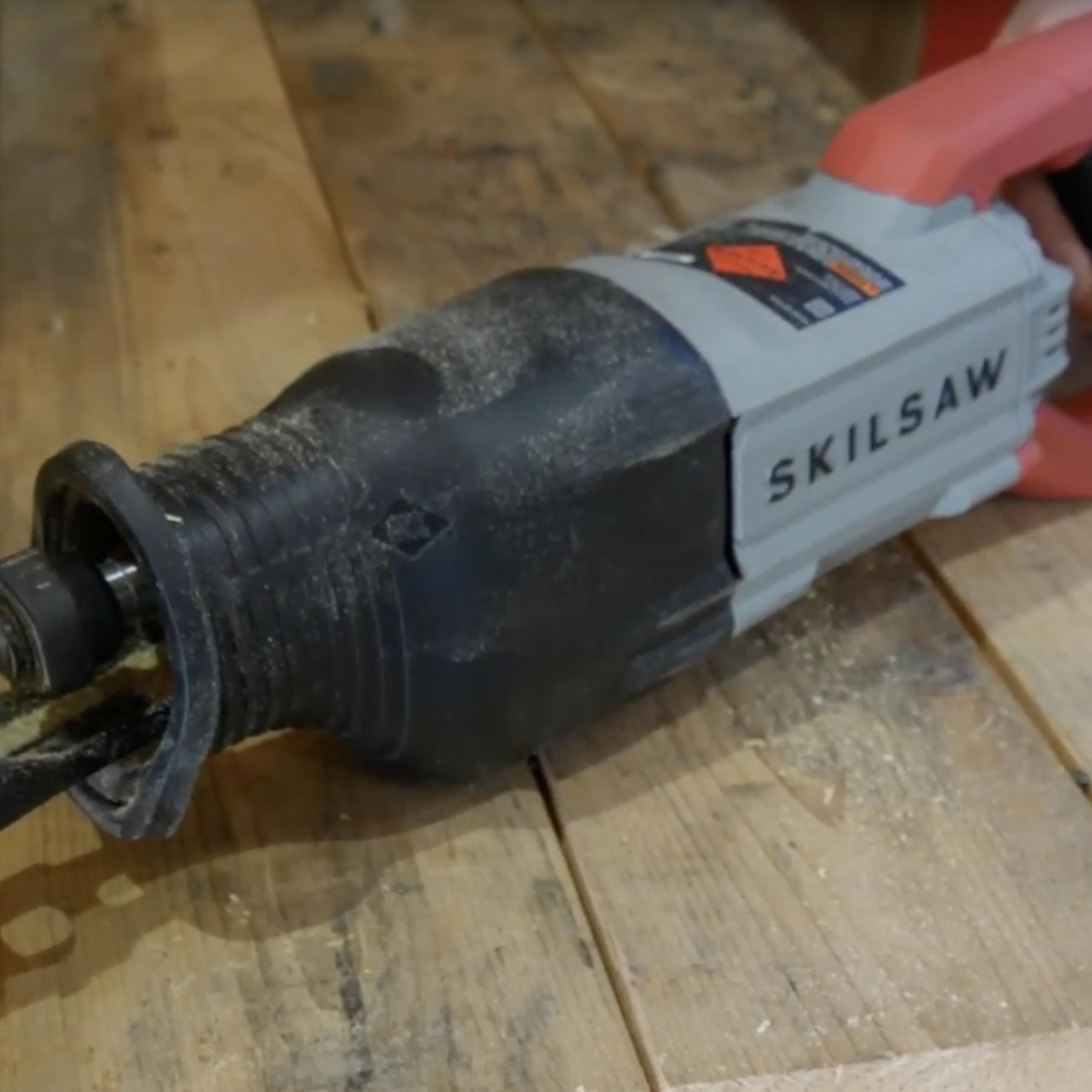 SKILSAW 13 Amp Reciprocating Saw with Buzzkill Technology, SPT44A-00