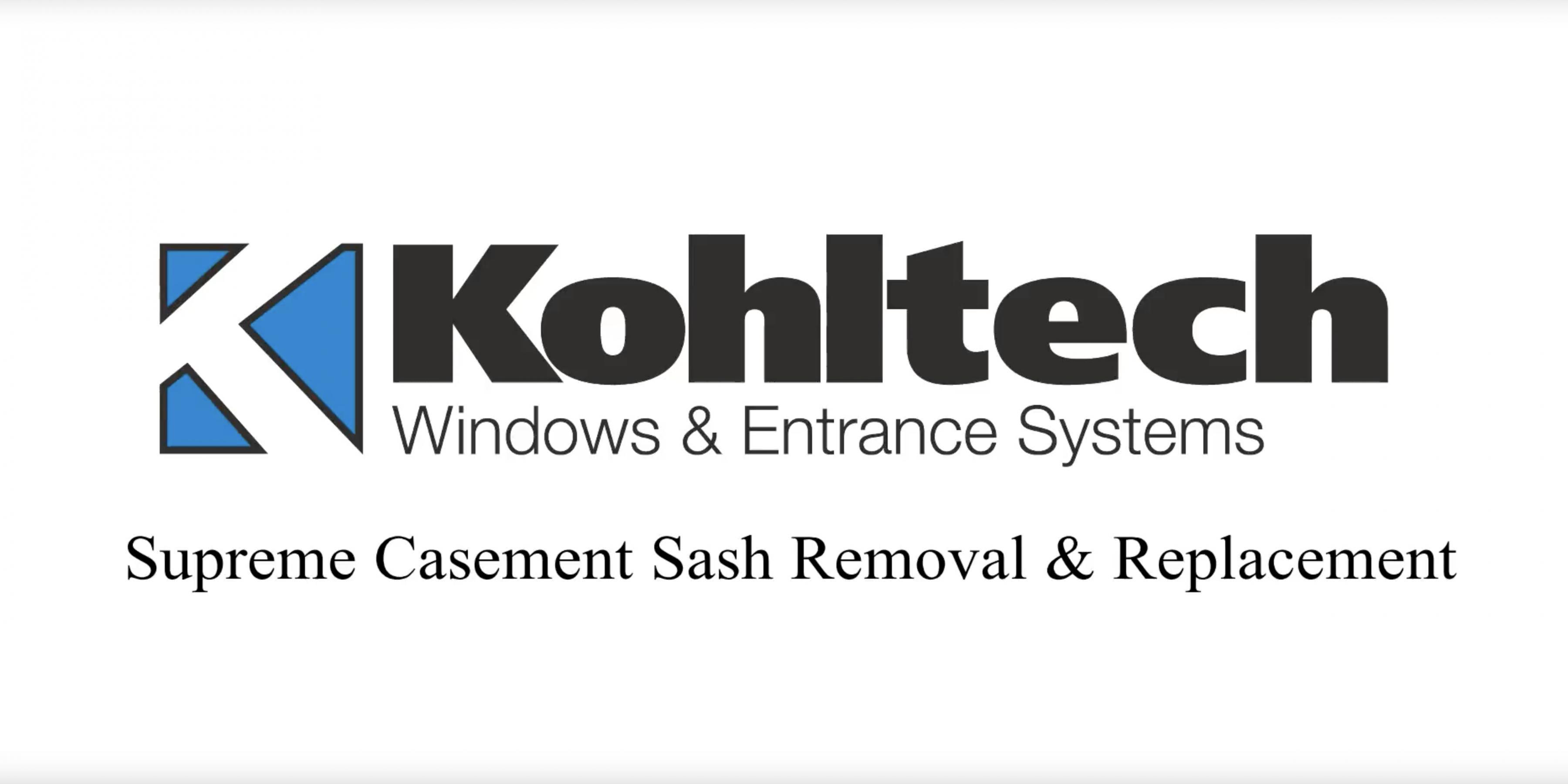 Supreme Casement Window Sash Removal