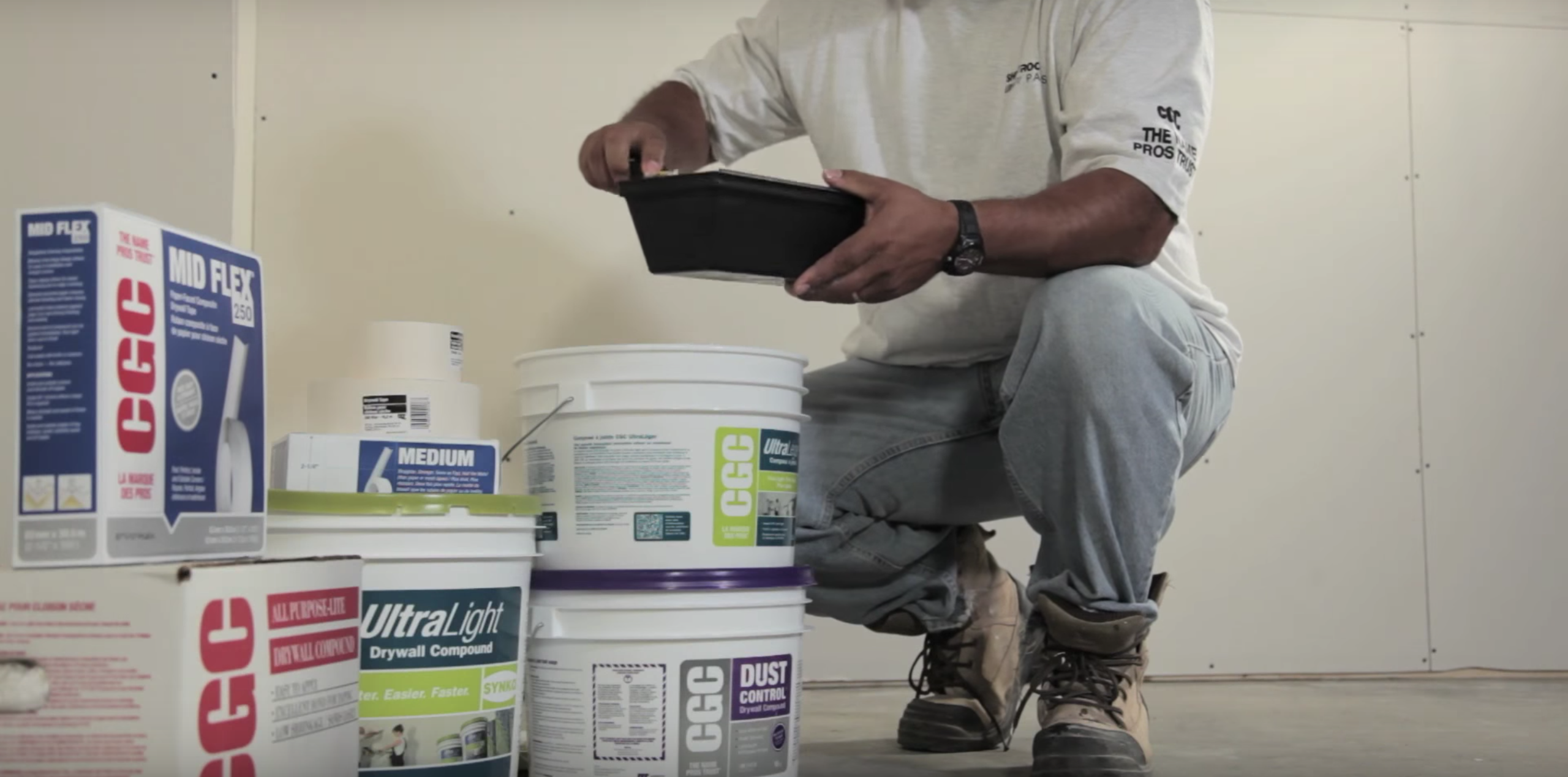 How To Apply Drywall Compound