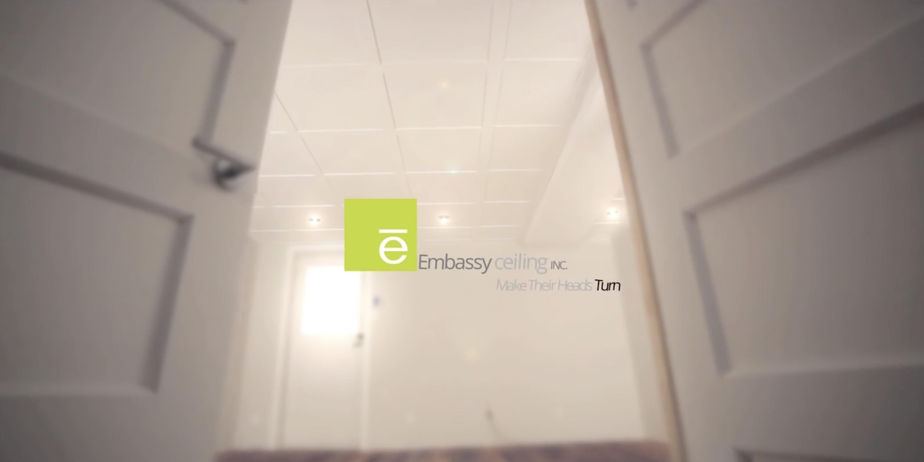 Embassy Ceiling Installation