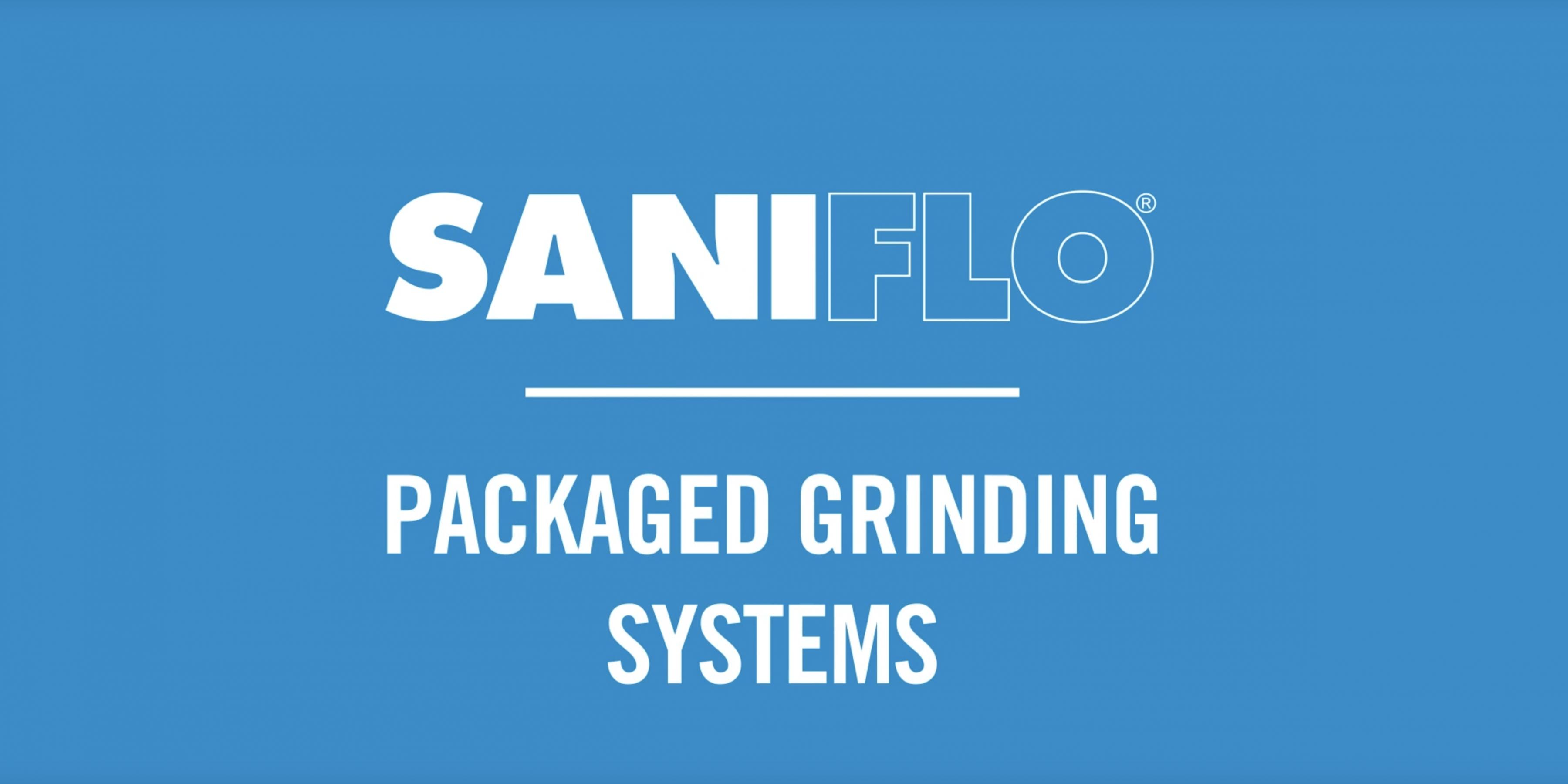 SANIFLO® Packaged Grinding Systems