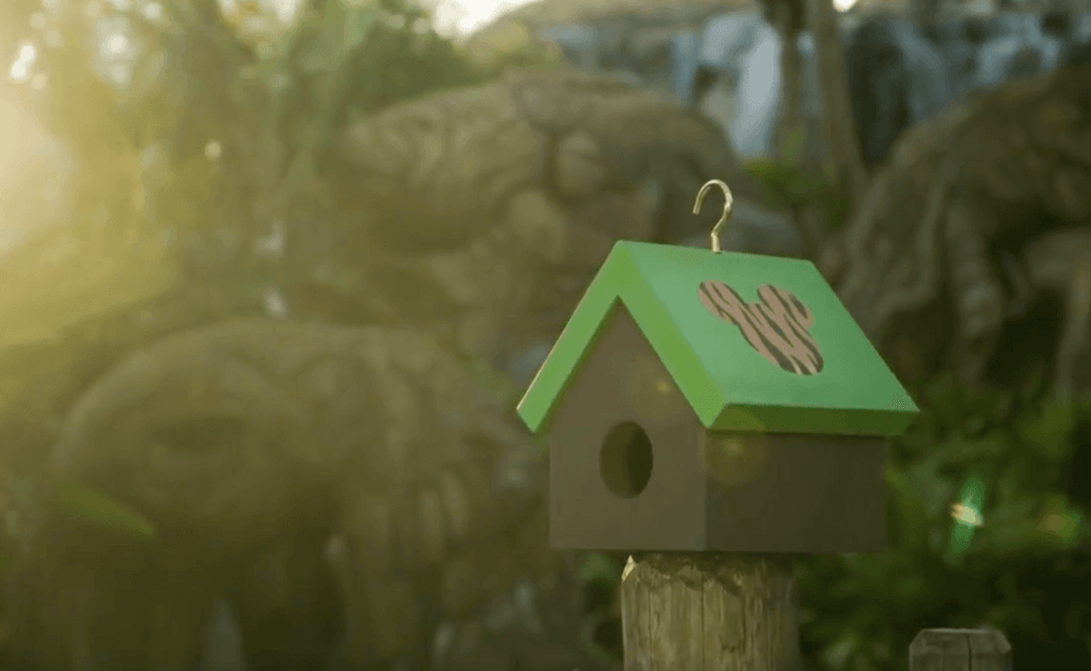 How to Build a Disney Inspired Birdhouse