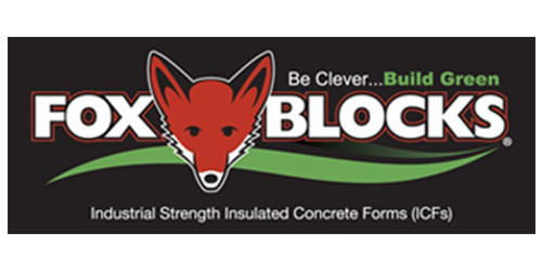 Fox Blocks by Airlite Plastics Logo