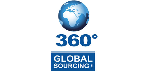 360 Global Sourcing Inc. Logo