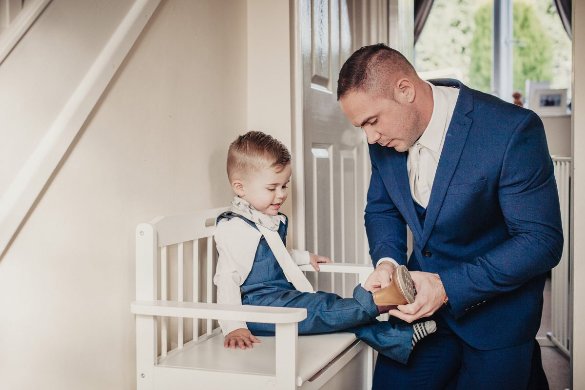 Wedding Photography_Malvern_groom and page boy