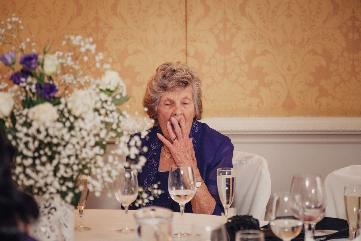 Wedding Photography_Ston Easton House Bristol_tired grannie