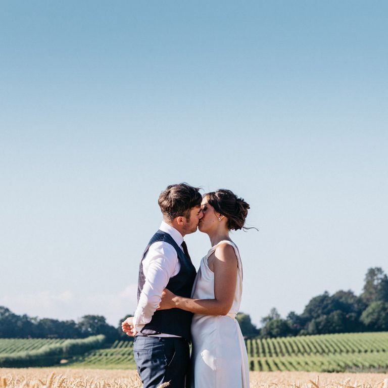 Wedding Photographer_Grittenham Barn Sussex_bride and groom