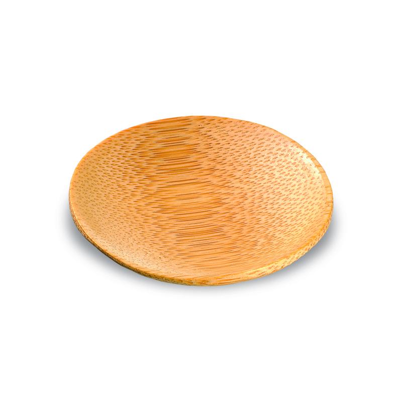 Ping Bamboo Mini Round Dish .50 oz Ø: 2.3 in