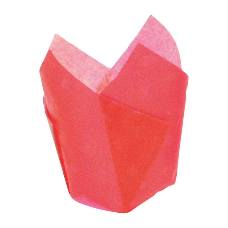 TULIPS - Red Silicone Baking Cup - 3 oz