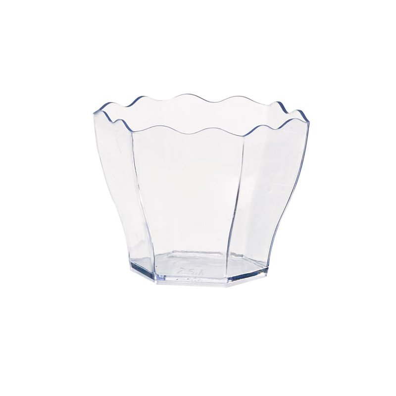 Waved Top Mini Cup - 1.75oz Dia: in. / H: 1.75 in.
