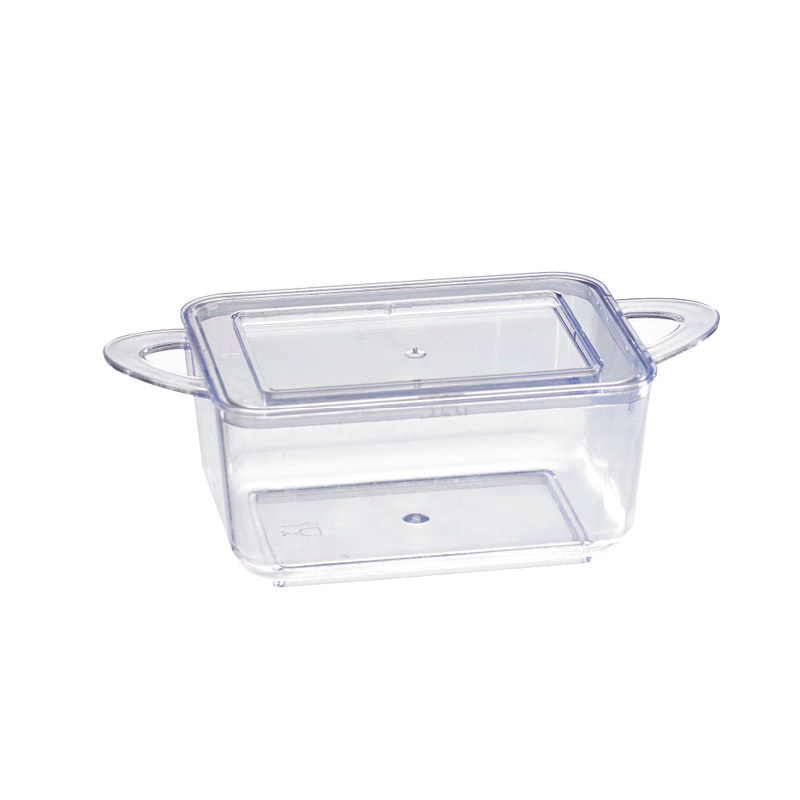 Mini Casserole With Rigid Lid Included - 3.8 in. - 2 oz 3.8 x 2 x 1.1 in