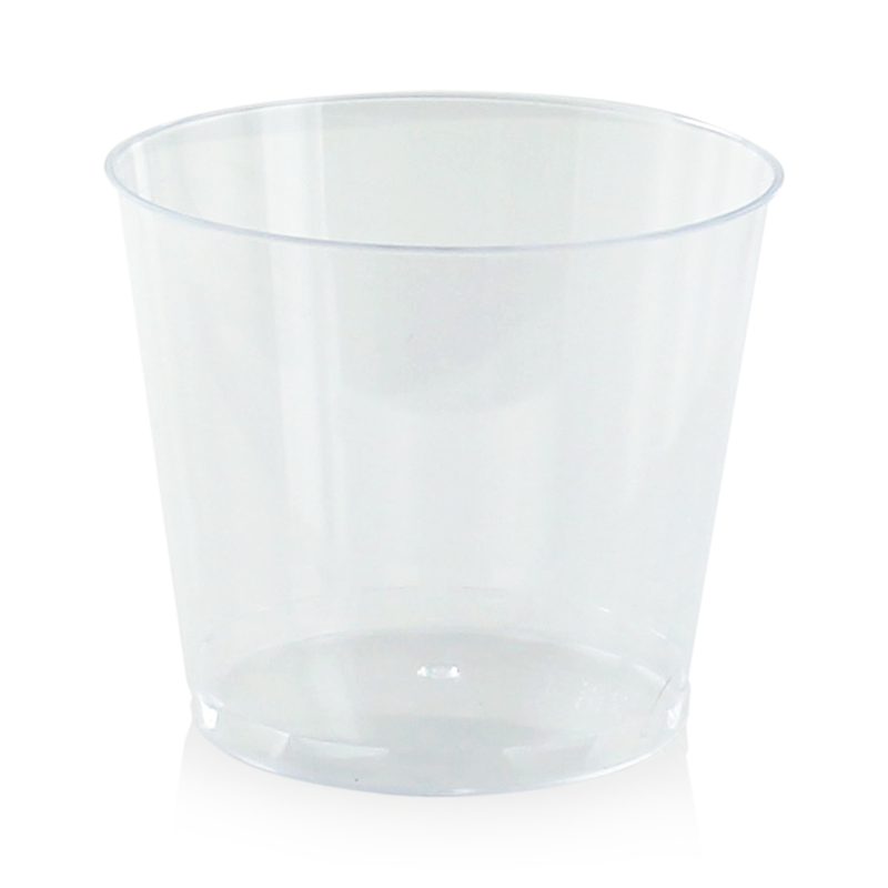 Clear Mini Plastic Cup - 6oz