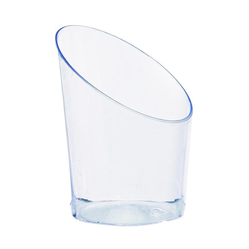 Angle Cut Mini Cup - 1.8 in.