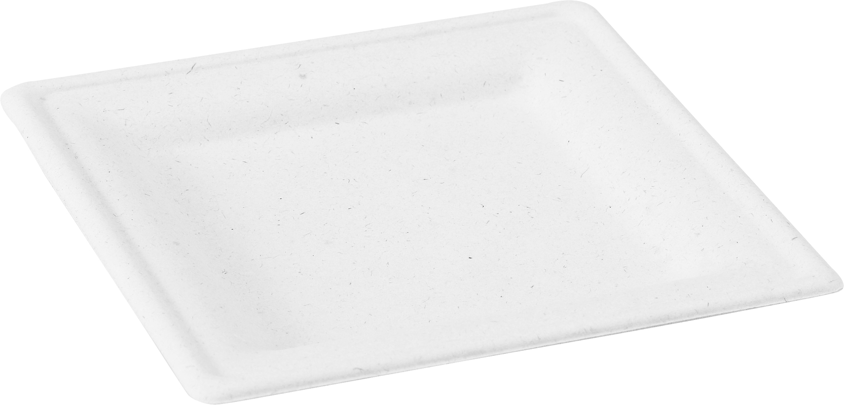 Square fiber plate 7.8 x 7.8 in