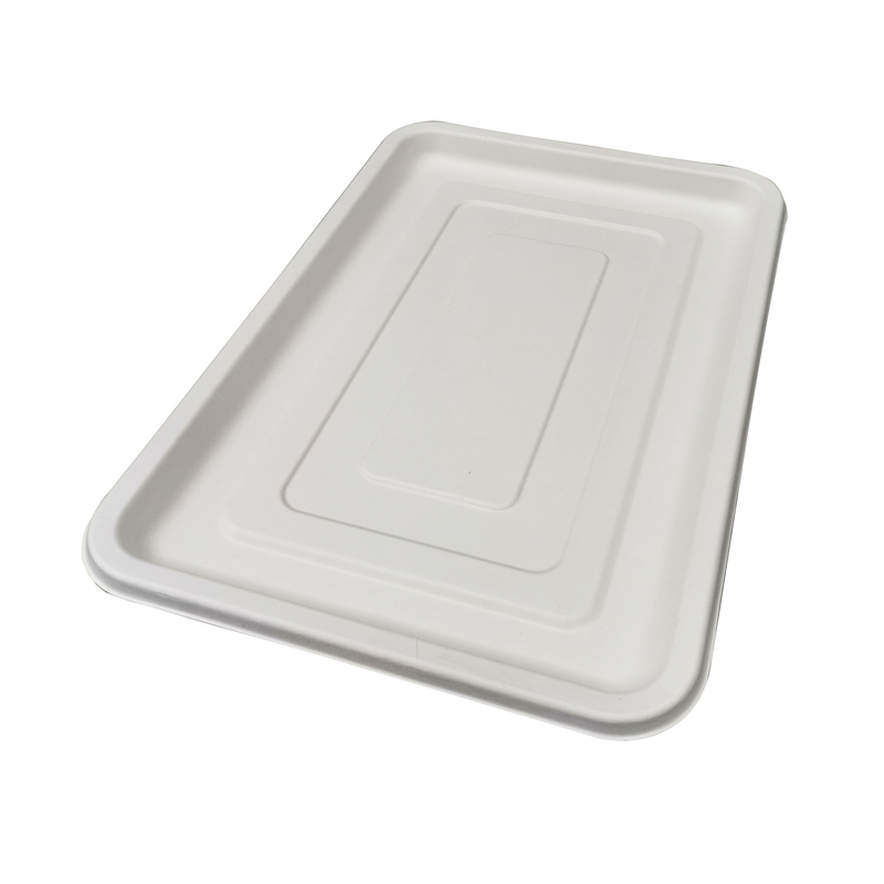Sugarcane Rectangular Platter - 17.7 x 12 in.