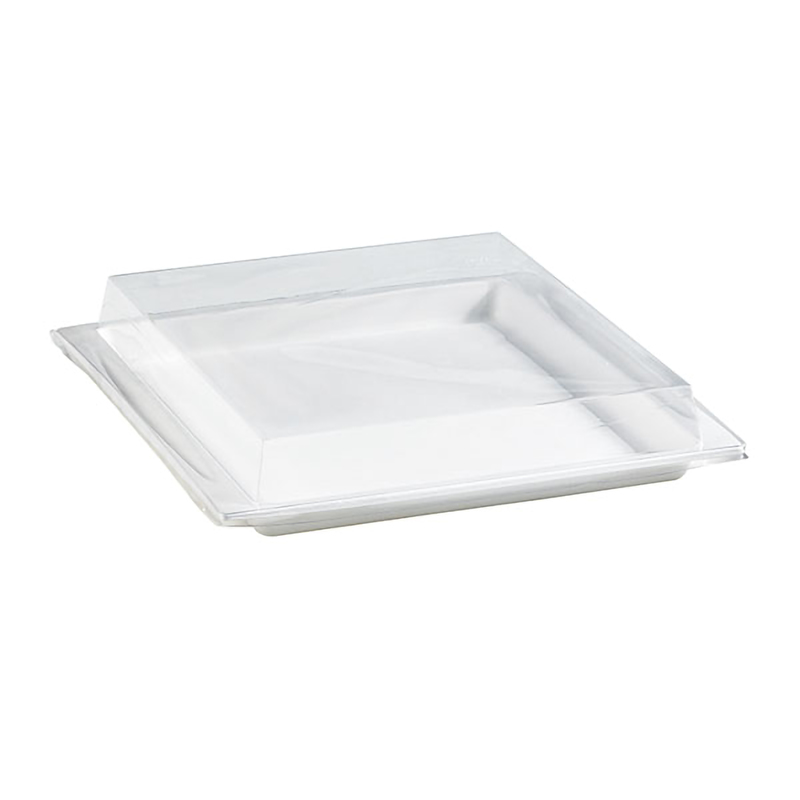 Clear Recyclable Lid For 210APUTRP23 - 10.4 x 10.8 x1.4 in