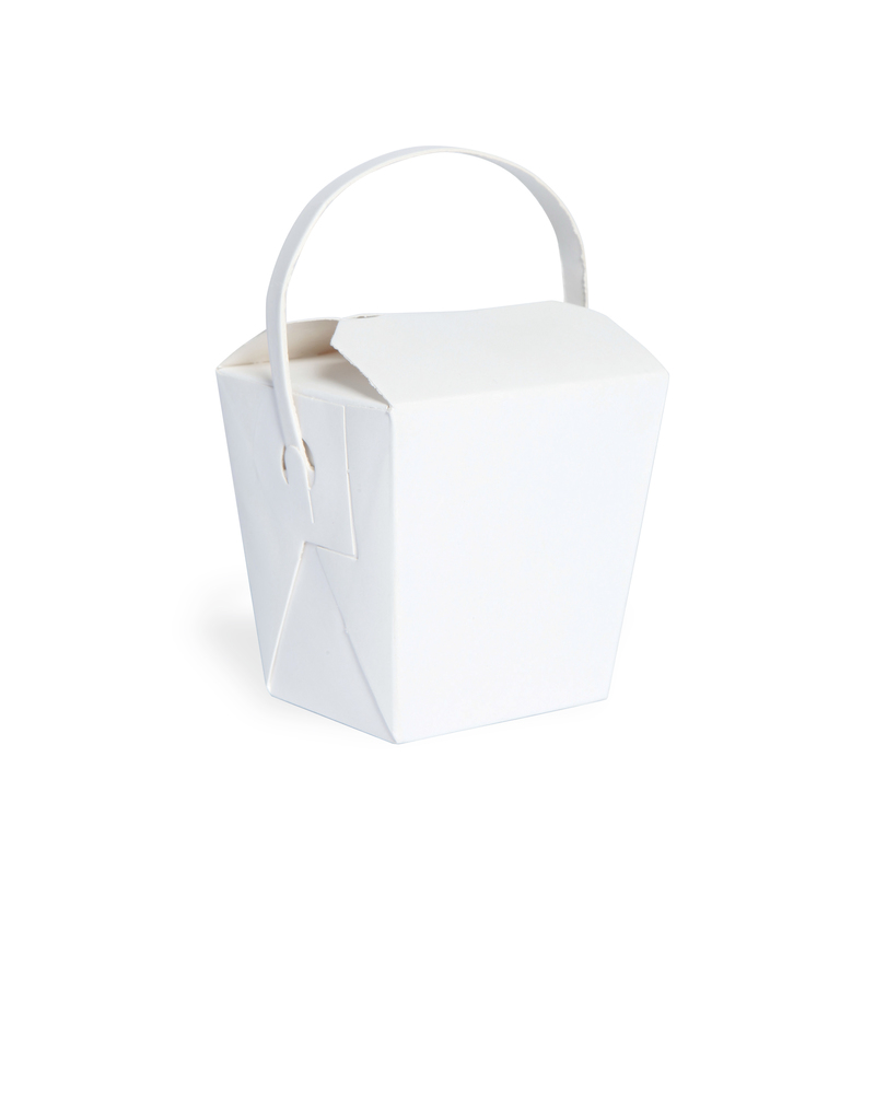 Mini Noodle Box With Paper Handle - 1.8 x 2.2 x 2.8 in.
