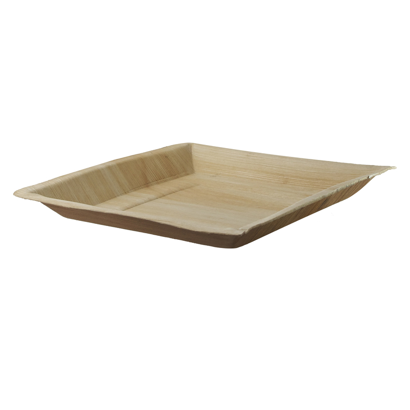 Square Palm Leaf Plate - 10 x 10 in