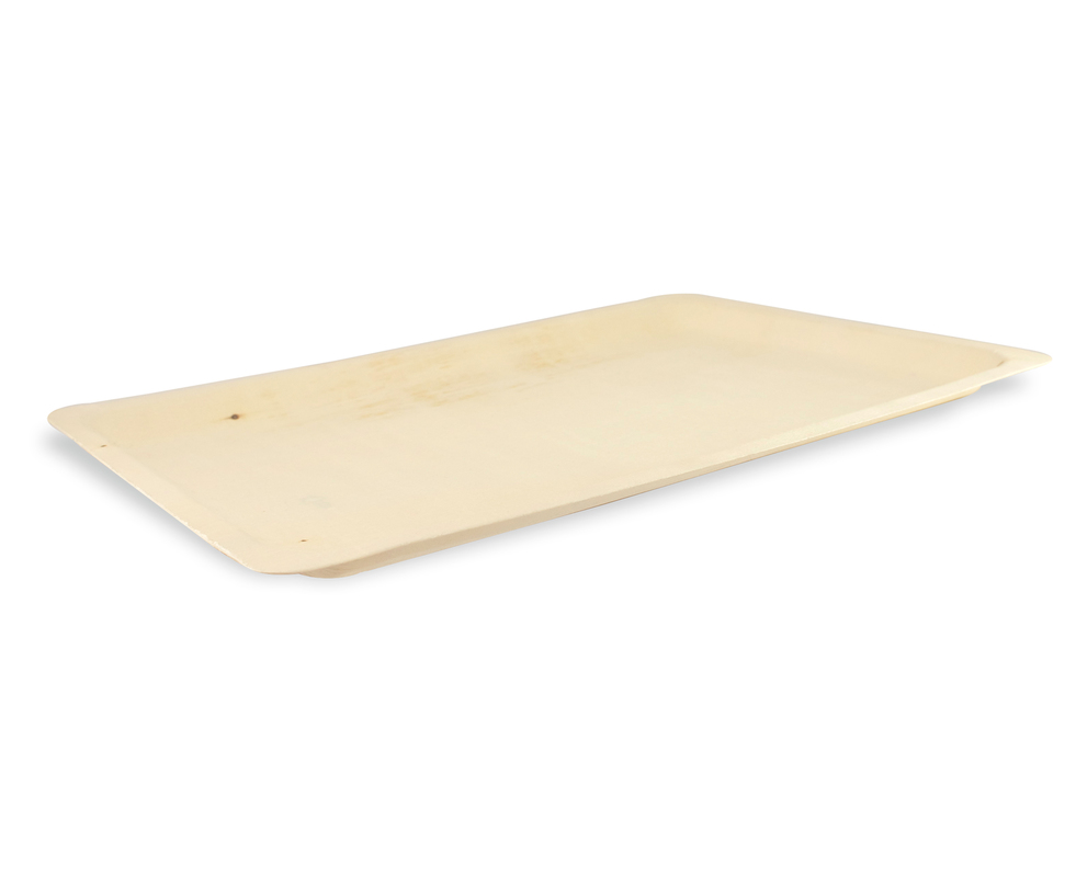 Scandinavia - Rectangular Wooden Tray - 15.8 x 11 in.