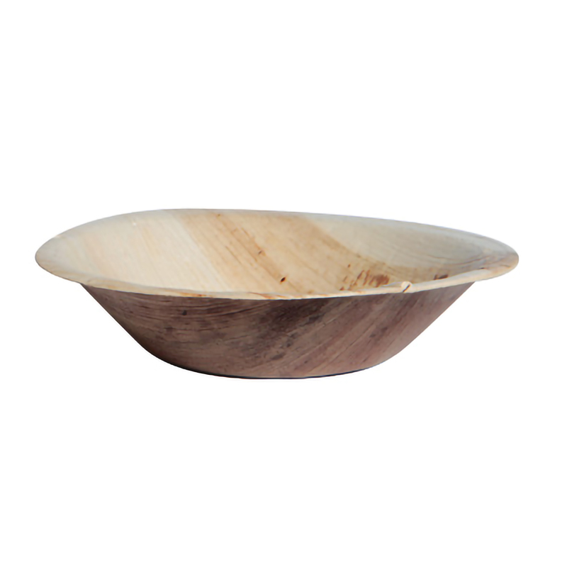 Palm Leaf Mini Bowl/Plate 6 oz Ø: 4.7 in H : 1 in