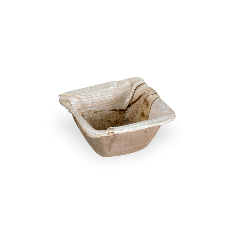 PALMSHANI - Square Palm Dish - 2.5 in.