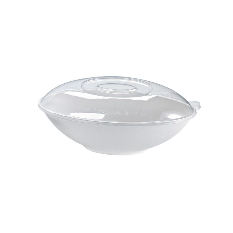 Clear Recyclable Lid For 210BCHIC1500 - 10.8 x 6.29 x 1.77 in