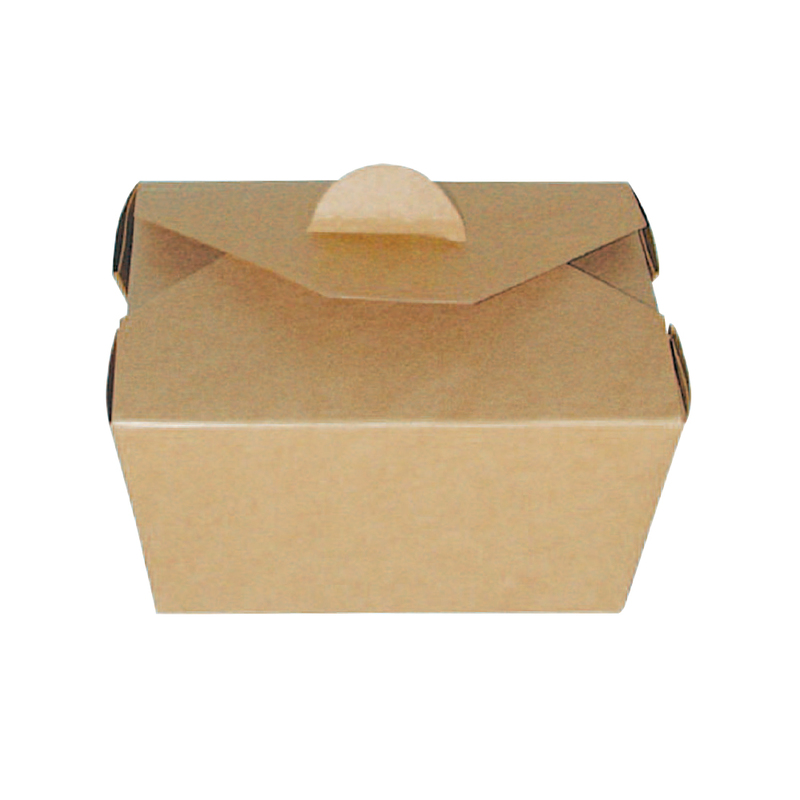 Brown Meal Box 5.1 x 4.1 x 2.6 in.