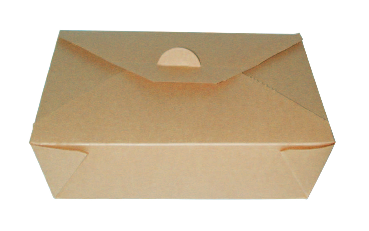 Brown Paper Meal Box - 50 oz