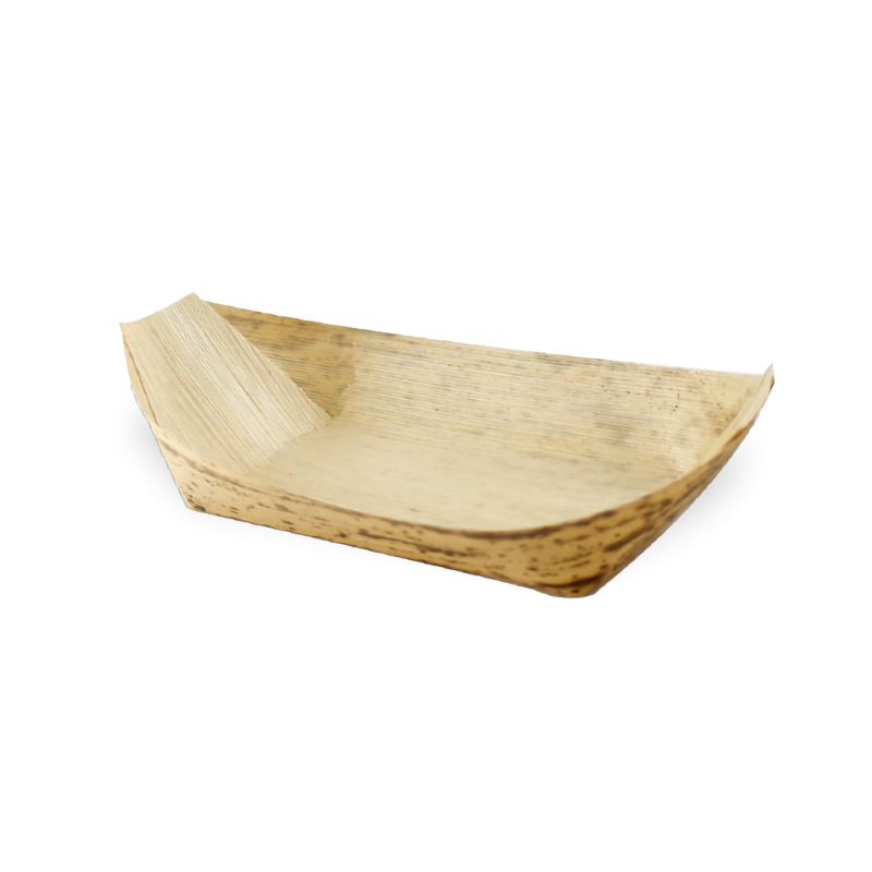 Medium Bamboo Leaf Boat - 5oz