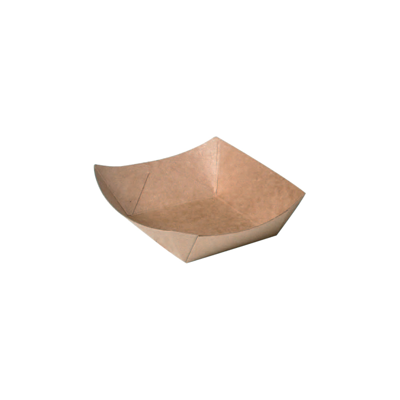 Kraft Paper Boats - .25 lb - 4.5 in.