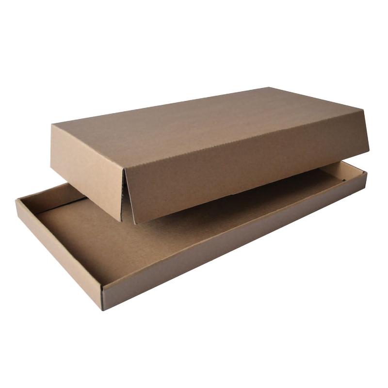 Cardboard Kraft Lid  - 10.2 x 12.4 in