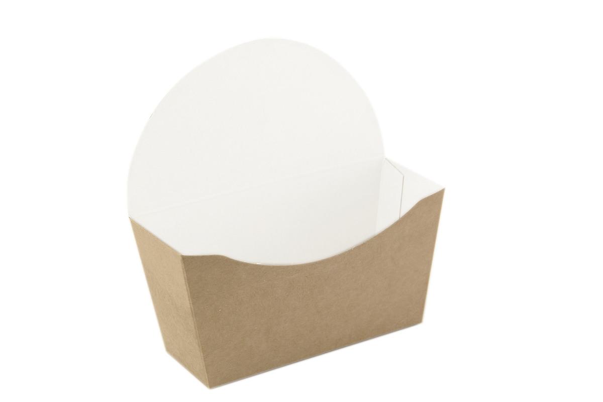 Kraft Bagel Box - 4.7 x 4.7 x 1.75 in.