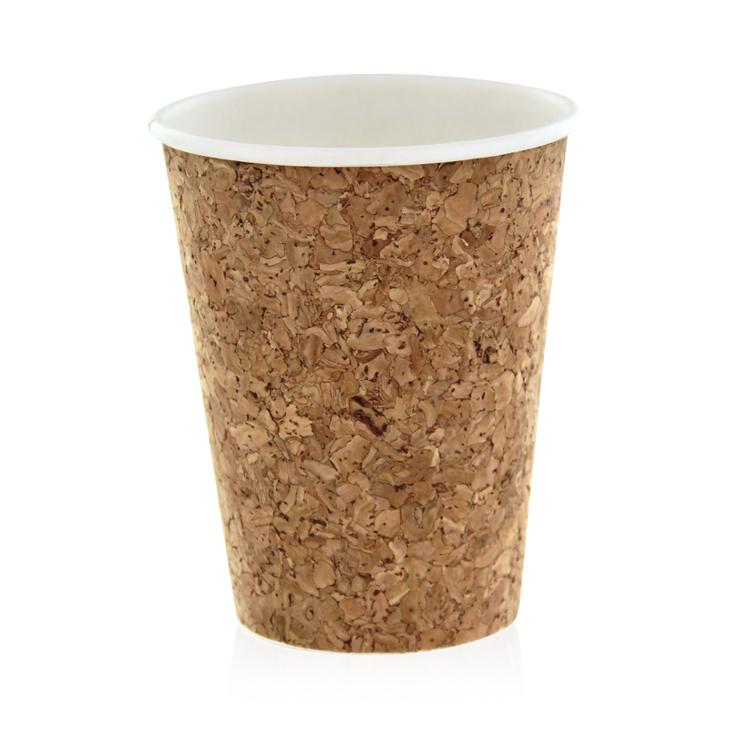 Insulated Corked Coffee Cup - 12 oz