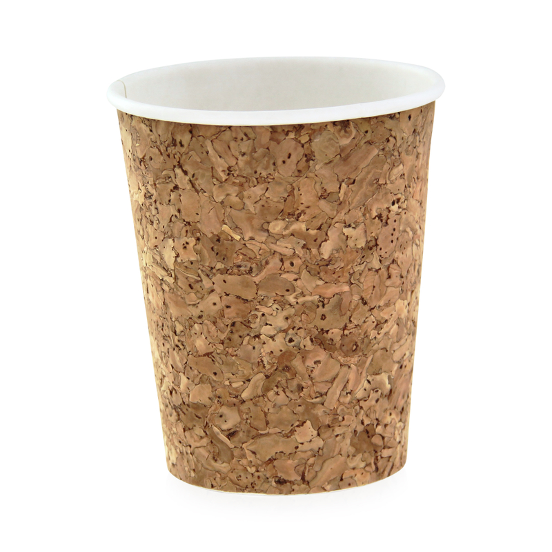 Insulated Corked Coffee Cup - 8 oz