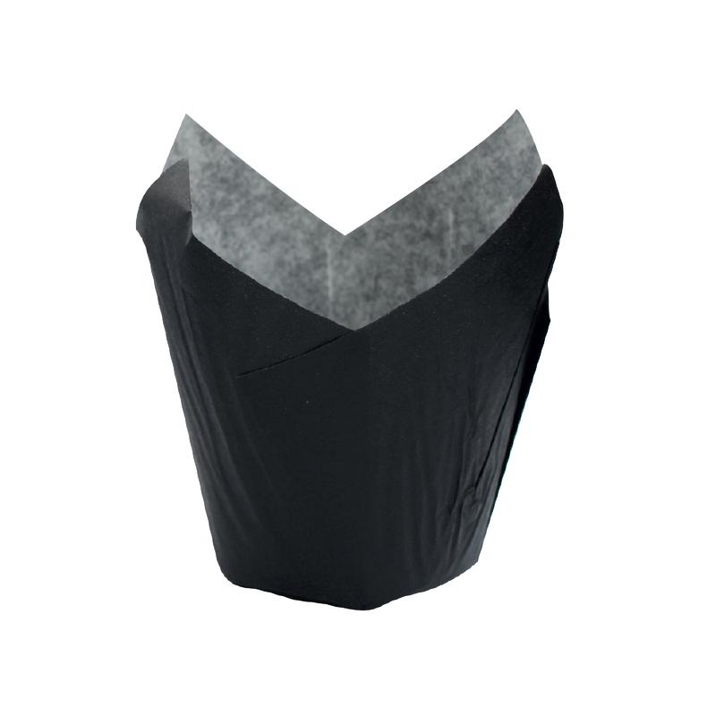 TULIPS Black Baking Cup - 1.25oz