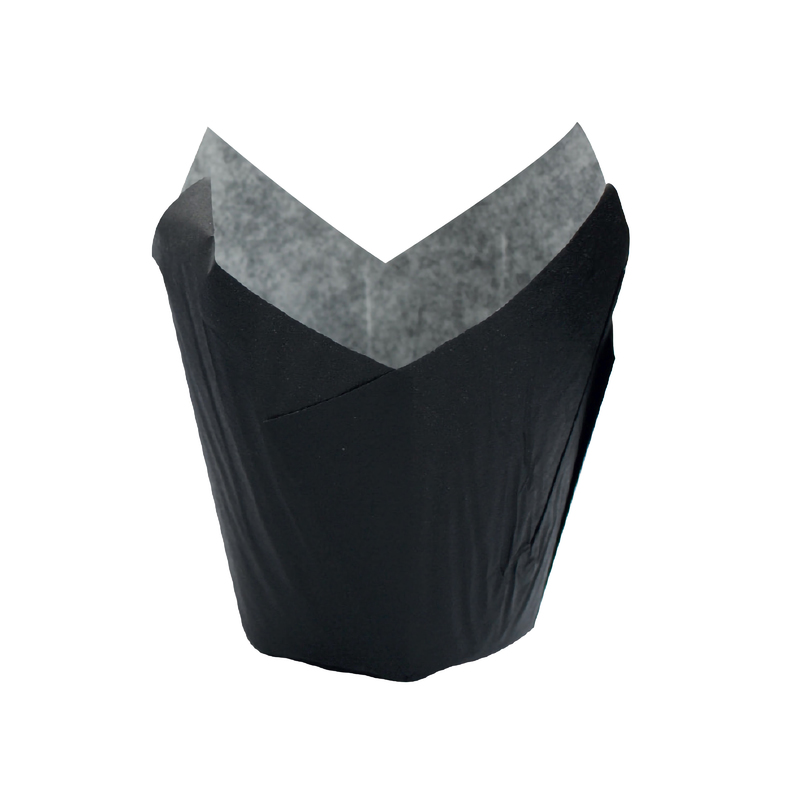Black Tulip Baking Cups - 3oz