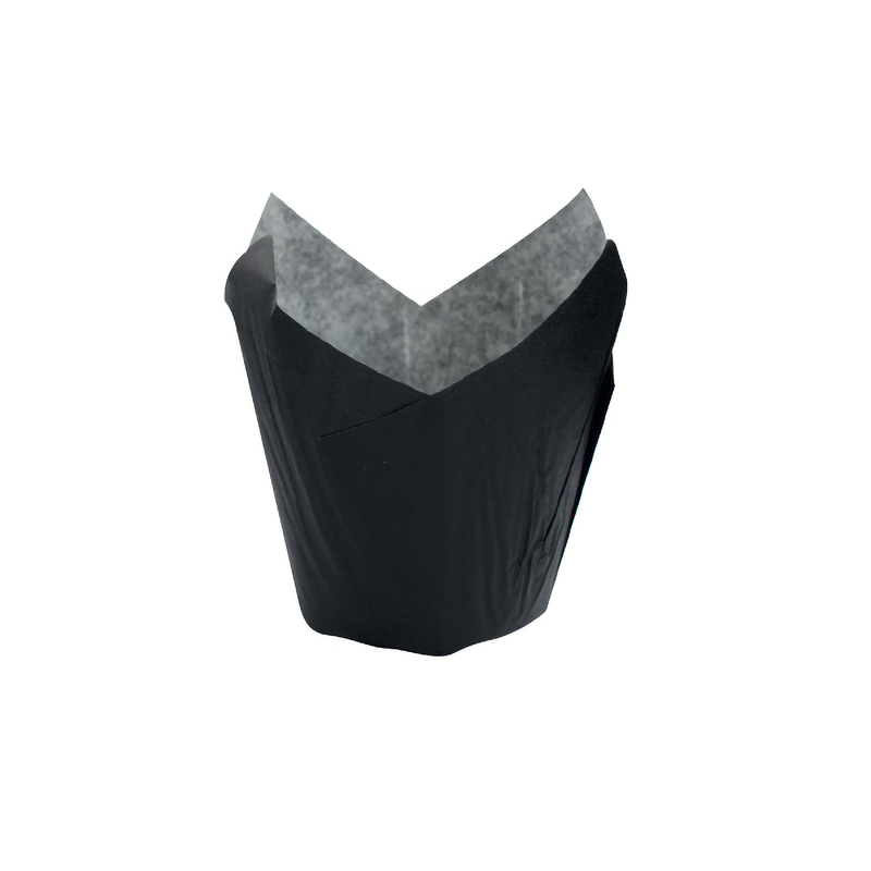 Black Tulip Baking Cups - 5oz