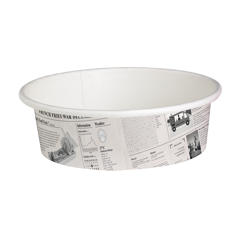 Deli News Printed Containers - 12oz