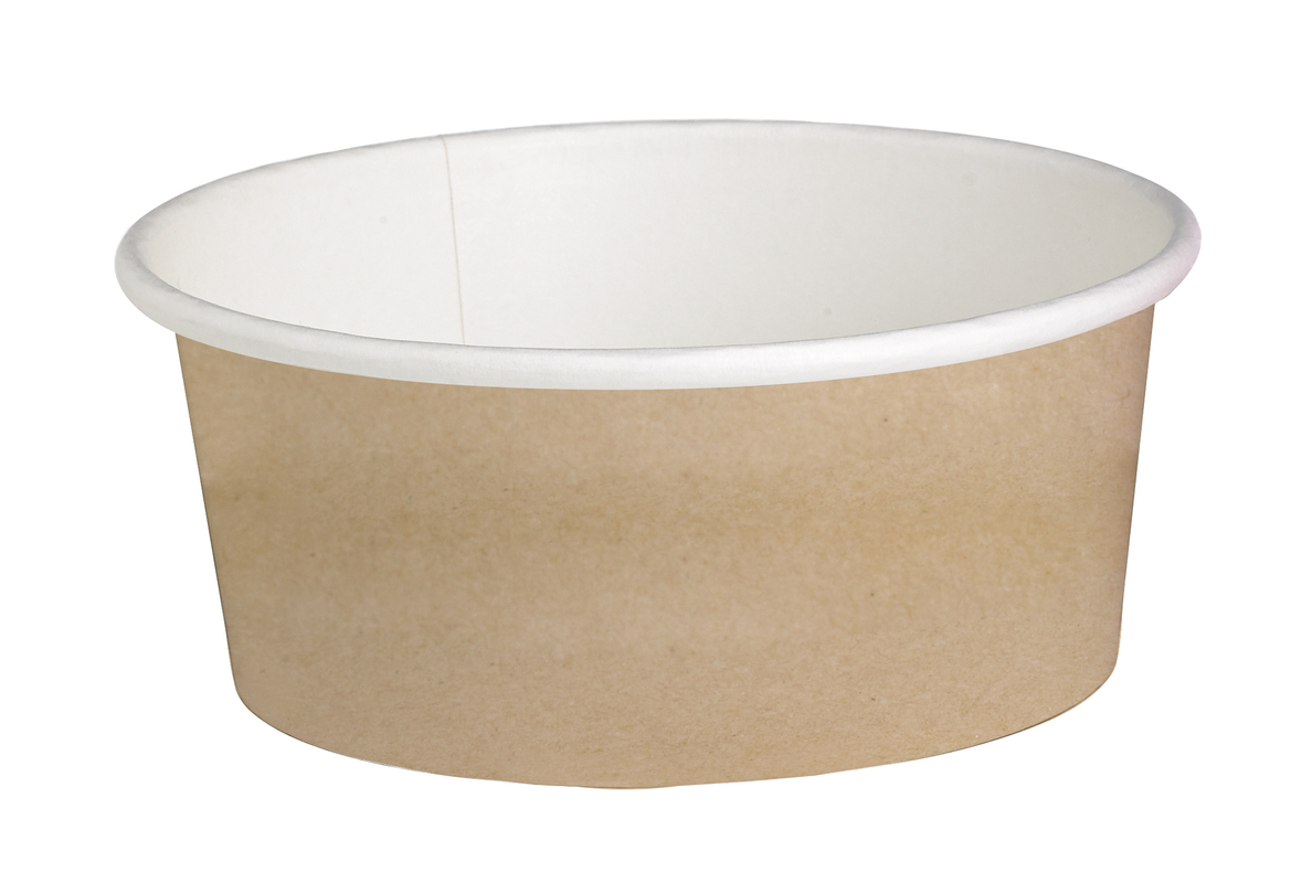 Round Kraft Containers - 16oz