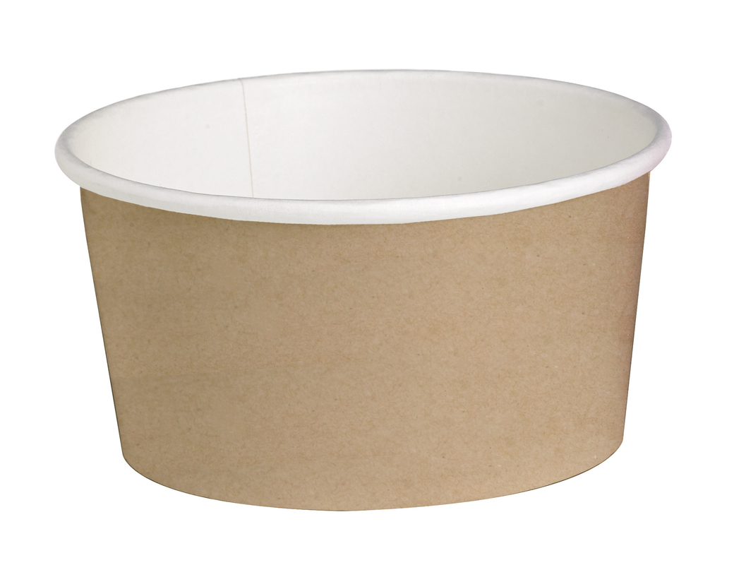 Round Kraft Containers - 20oz