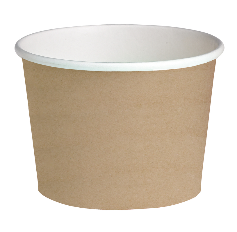Round Kraft Containers - 24oz