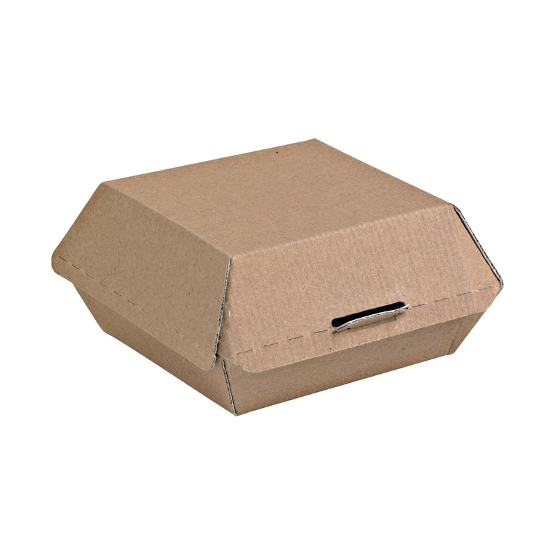 Cardboard Hamburger Box - 5.3 x 4.9 x 2.6 in.