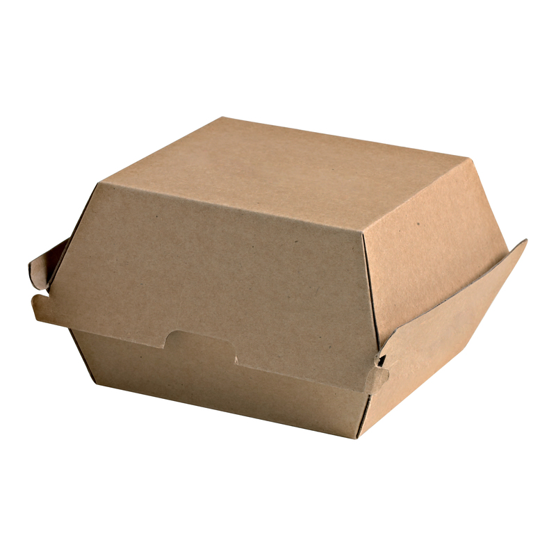 Kraft Burger Box - 5.7 x 5 x 3.25 in.
