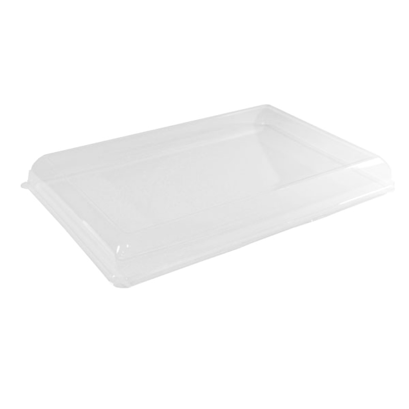 Clear Recyclable Lid For 210ECOD4028 - 15.75 x 11.02 in.