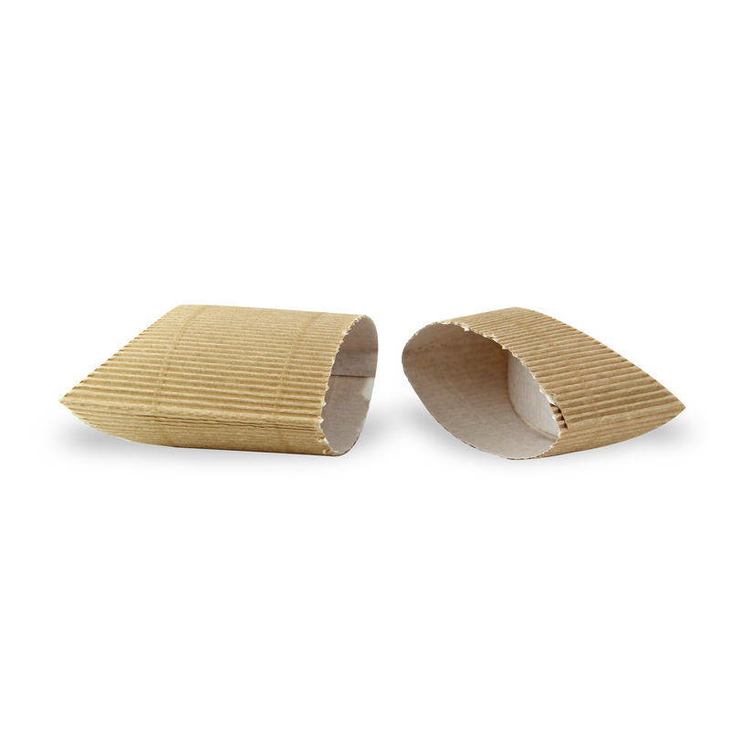 Corrugated Hot Sandwich Boxes 5.1 x 5.7 x 2.2 in.
