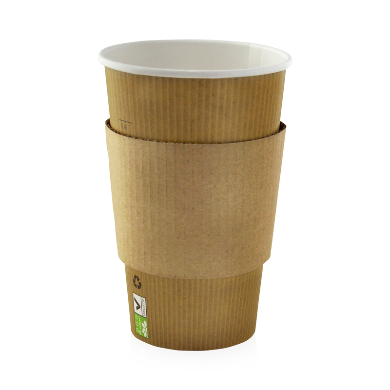 Hot Drink Jacket For 12/16oz Cup